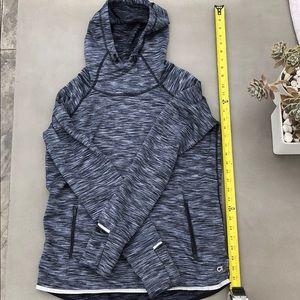GAP Fit Athletic Fleece Lined Hooded Sweatshirt